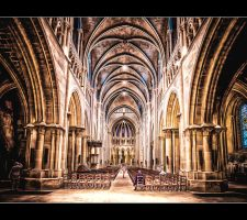 Cathedral of Lausanne III by calimer00