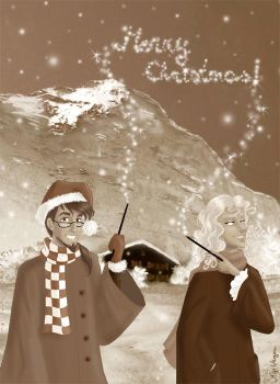HP - Christmas in Grindelwald by AgiVega
