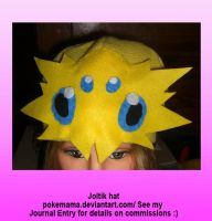 Joltik hat by PokeMama