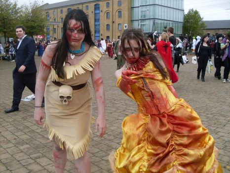 MCM Expo: Zombie Disney by LabyrinthLadyLover