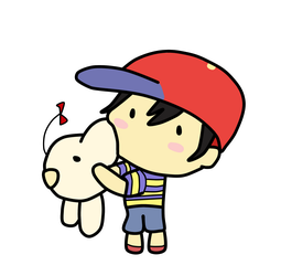 Ness by honey-tree