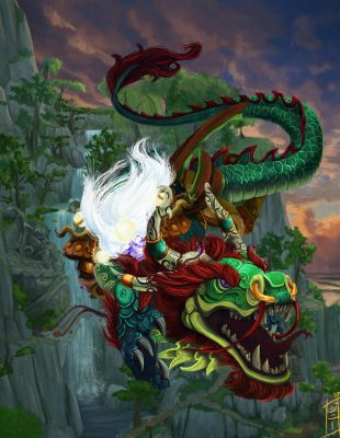 Flying Lessons - World of Warcraft Tribute by MagicalMelonBall