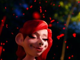 A Smile Under Hearted Lights by ChaseAvano