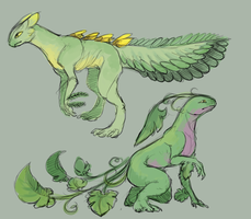 Sceptile and Grovyle: Subspecies