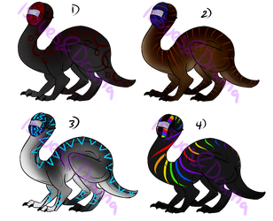 Faceless Dragon Adopts OPEN by IssuesandDramaAdopts