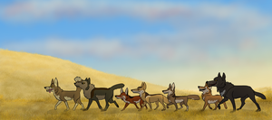 Lords and Ladies of the Field by Songdog-StrayFang