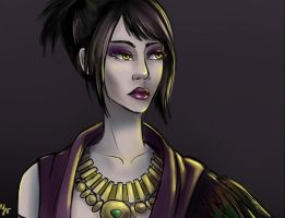 Morrigan by Yveyn