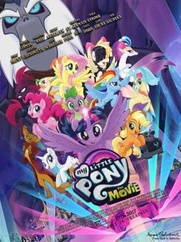 [FANMADE] My Little Pony: The Movie Poster by AaronMon97