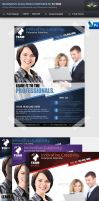 Business Solution Corporate Flyer by Saptarang