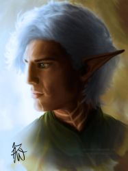 Fenris Profile - Windswept by Auridesion
