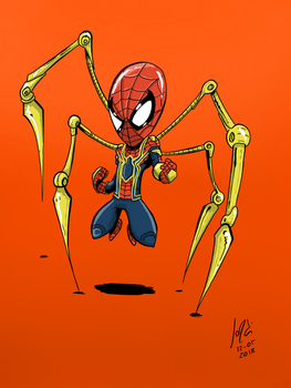 Iron Spider by JordiHP