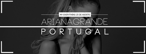 Ariana Grande Portugal Facebook Cover by DontCallMeEve