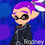 Rodney (14 Years Old, Inkling Form) by Brightsworth-Heroes