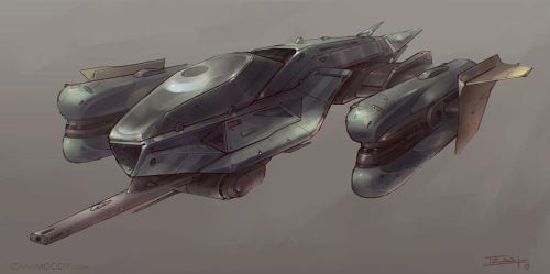 Fighter Concept by Apostolon-IAM