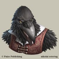Pathfinder - Tengu by NikolaiOstertag