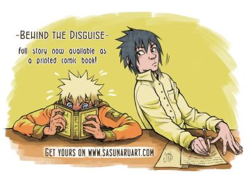 Behind the Disguise - Full Story as a Comic Book!! by Yasuli