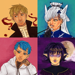 { comm } 2015 painted bust dump by yorunaka