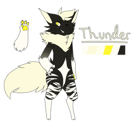 Thunder [Squishling Application/REF] by Lyndeer