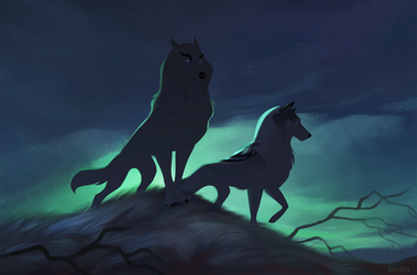 Guardians of the Night by Naviira