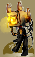 Noman polk/The projectionist by Flappy27