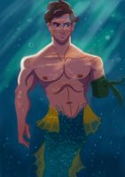 Merman by Fawkes29