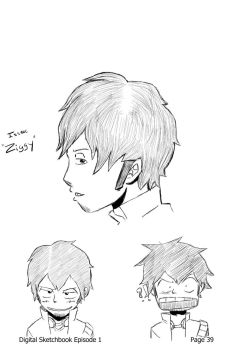 Character Designing: Ziggy by Hatianidiot