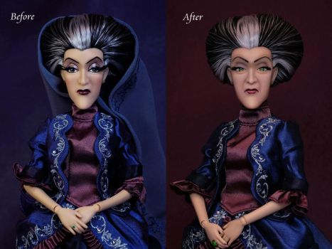 Lady Tremaine OOAK doll by RYfactory