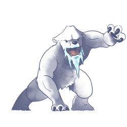 Gotta Draw Them All: Beartic by GoldenLionofRa