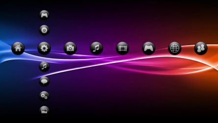 Sfere Black 3 - PS3 Theme by javierocasio