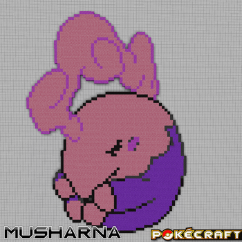 Pokecraft Musharna by PkmnMc