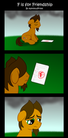 F is for Friendship by AleximusPrime