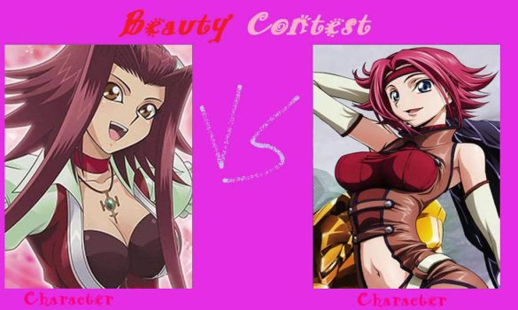 Beauty Contest Akiza vs. Kallen by JasonPictures