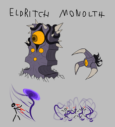 EBF 5 Foe Competition entry - Eldritch Monolith by commandergrunt
