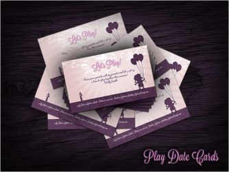 Play Date Cards by Devalchemist
