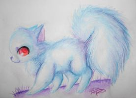 :Blue Cat: by PrePAWSterous