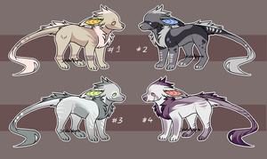 Vernid Adoptables (closed) by SolalaAdopts