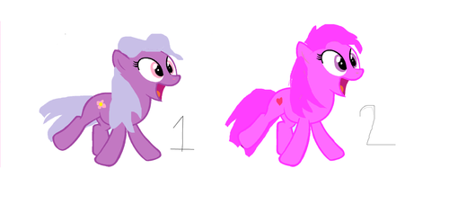 Happy Pony Adoptables by candyland21