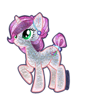 Freckle Sketch CRYSTAL Crystal Pony by IceCatDemon