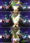 Perodia collectible card game title art by Knights-End