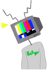 TV Head Pixel by AllStar12