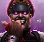 M. BISON | StreetFighter II by MAiJiNTHEARTIST
