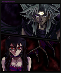 We are darkness - Insaneshipping by HerzyDIshtar