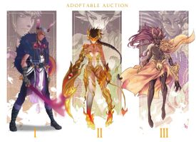 [Auction OPEN] Horned Demons - 1 left by CemarAdopts