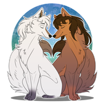 [AT for RuffleTruffle]- Love wolfs :. by Chocoecaramell