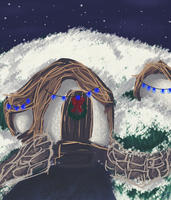 A Very Shire Christmas by Goblin-Queenie