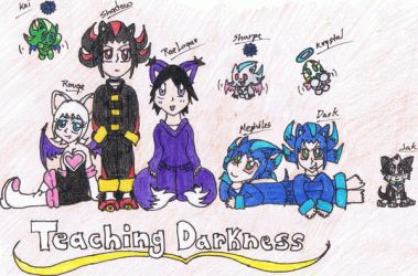 Teaching Darkness crew by aminelover4ever