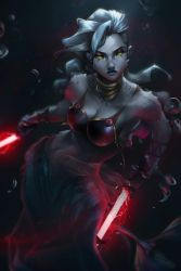 Dark Saalia - Star Wars OC by Totemos