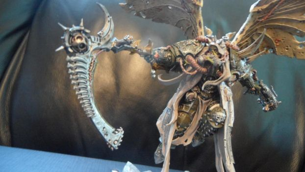 Mortarion, Daemon Primarch of Nurgle pic 2 by Dible