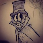 Hatbox Ghost Redeux by JudgeChaos