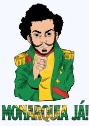 Monarquia J Cores by GustaInk